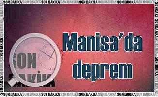 Manisa Akhisar'da deprem; Akhisar 4.3 ile sallandı