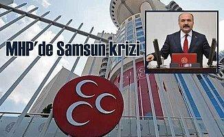 MHP Samsun'da ittifak çatlağı: Başkan görevden alındı