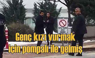 Selçuk Üniversitesi'nde pompalı dehşeti son anda önlendi