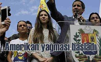 Venezuela'da Amerikan yağması başladı