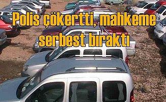 11 otomobil çalan hırsızlık çetesi serbest bırakıldı