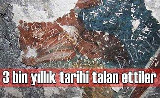 3 bin yıllık tarihi talan ettiler