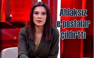E-posta sapıklarına CNNTURK spikeri isyan etti
