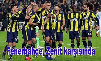 Fenerbahçe Zenit karşısında