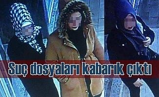 Genç kızların kurduğu hırsızlık çetesi polisi şoke etti