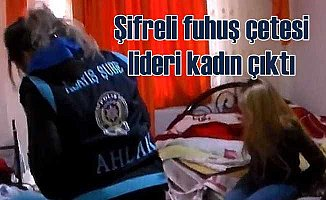 Kayseri'de şifreli fuhuşa polis baskını