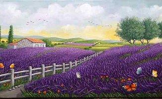 Rengarenk bir bahar sergisi
