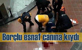 Samsun'da AVM'de borç intiharı; Esnaf ölüme atladı