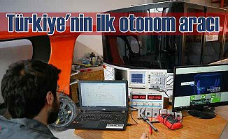 Türkiye'nin ilk otonom aracı test sürüşlerine başladı