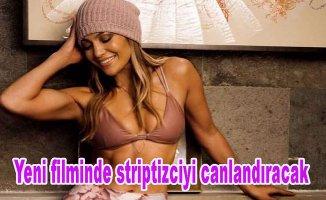 Ünlü şarkıcı Jennifer Lopez yeni filminde striptizciyi canlandıracak