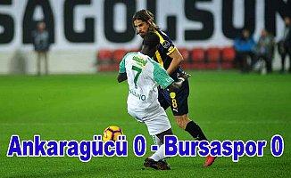 Ankaragücü, Bursaspor puanları payşatı