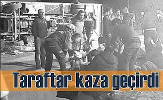 Ankaragücü taraftarları Afyon'da kaza yaptı, 3 ölü var