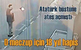 Atatürk büstüne ateş açan adam için emsal karar