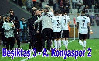 Beşiktaş Şenol Güneş istifa sesleri arasında kazandı
