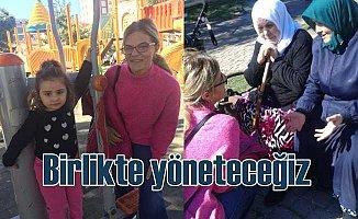Çakmak Mahallesi Muhtar Adayı Zerrin Özgüner kadınlara seslendi