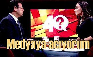 CNNTürk'te yayını kesilen İmamoğlu; Medyaya acıyorum