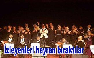 Etiler Musiki Korosu'ndan muhteşem konser