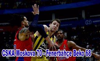 Fenerbahçe Beko yenilmesine ragmen liderliğini korudu