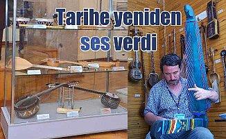 Feridun Obul'un enstrumanları Baku'da sergileniyor