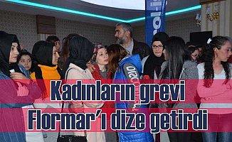 Flormar'ı çalışan kadınlar grevle dize getirdi