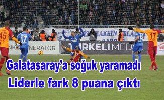 Galatasaray Erzurum'da ağır yara aldı