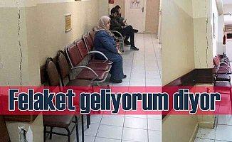 İstanbul'un göbeğinde, sağlık merkezinde korkutan manzara
