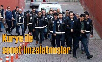 Kayseri'de organize işler çetesi