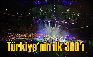 Kenan Doğulu'dan 360 derece konser