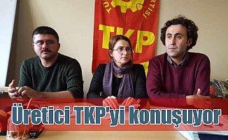 Konya'da TKP adayı üreticiye 'üretici' olduğunu hatırlattı