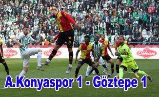 Konyaspor, Göztepe puanları paylaştı