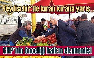 Seydişehir'de CHP iki adayla yarışıyor