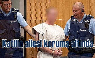 Terörist Tarrant'ın ailesine polis koruması