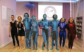 Yoga Koreografi Turnuvası'nı Türk sporcular kazandı