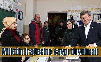 Ahmet Davutoğlu yerel seçimleri ilk kez değelendirdi