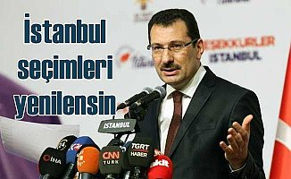 AK Parti seçimlerin yenilenmesini istiyor