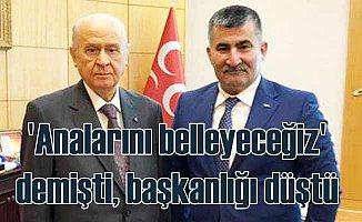 Analarını belleyeceğiz diyen MHP'li başkana YSK şoku