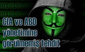 Anonymous'dan Amerika ve CIA'ya tehdit