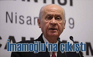 Bahçeli | Ekrem İmamoğlu'ndan belediye başkanı olmaz