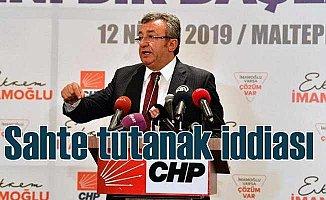 CHP'den Büyükçekmece soruşturması için sahte tutanak iddiası