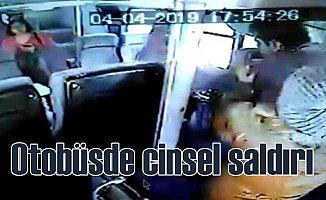 Çift katlı otobüste gazeteciye cinsel taciz
