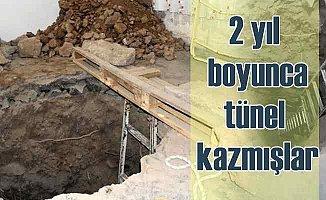 Definecilerin sultan mezarları için tünel planı çöktü