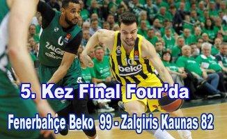 Fenerbahçe BekoFinal Four'da