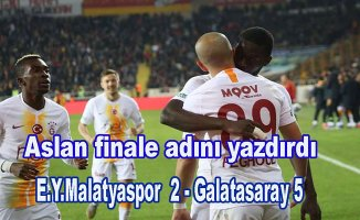 Galatasaray kupada finalde