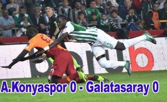 Galatasaray liderlik fırsatını kaçırdı