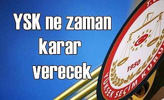 Gözler YSK'da AK Parti itirazları ne zaman karara bağlanacak