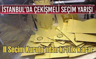 İstanbul seçimlerinde sonucu değiştirecek şok karar