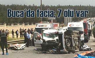 İzmir Buca'da feci kaza, 7 ölü var
