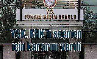 KHK ile ihraç edilenler için YSK'dan önemli karar