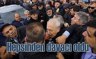 Kılıçdaroğlu, o saldırganlardan resmen davacı oldu