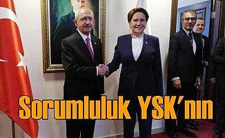 Kılıçdaroğlu ve Akşener'den YSK'ya çağrı